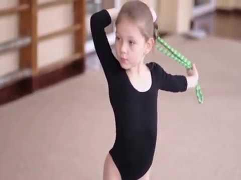Художественная гимнастика для детей. Девочки с 4-11 лет.