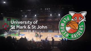 Plymouth Raiders Basketball Club - a look behind-the-scenes