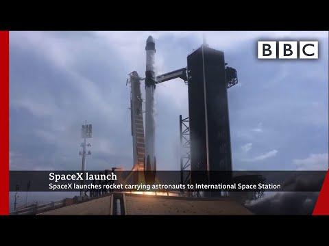 SpaceX launch 🚀 @BBC News @NASA - BBC