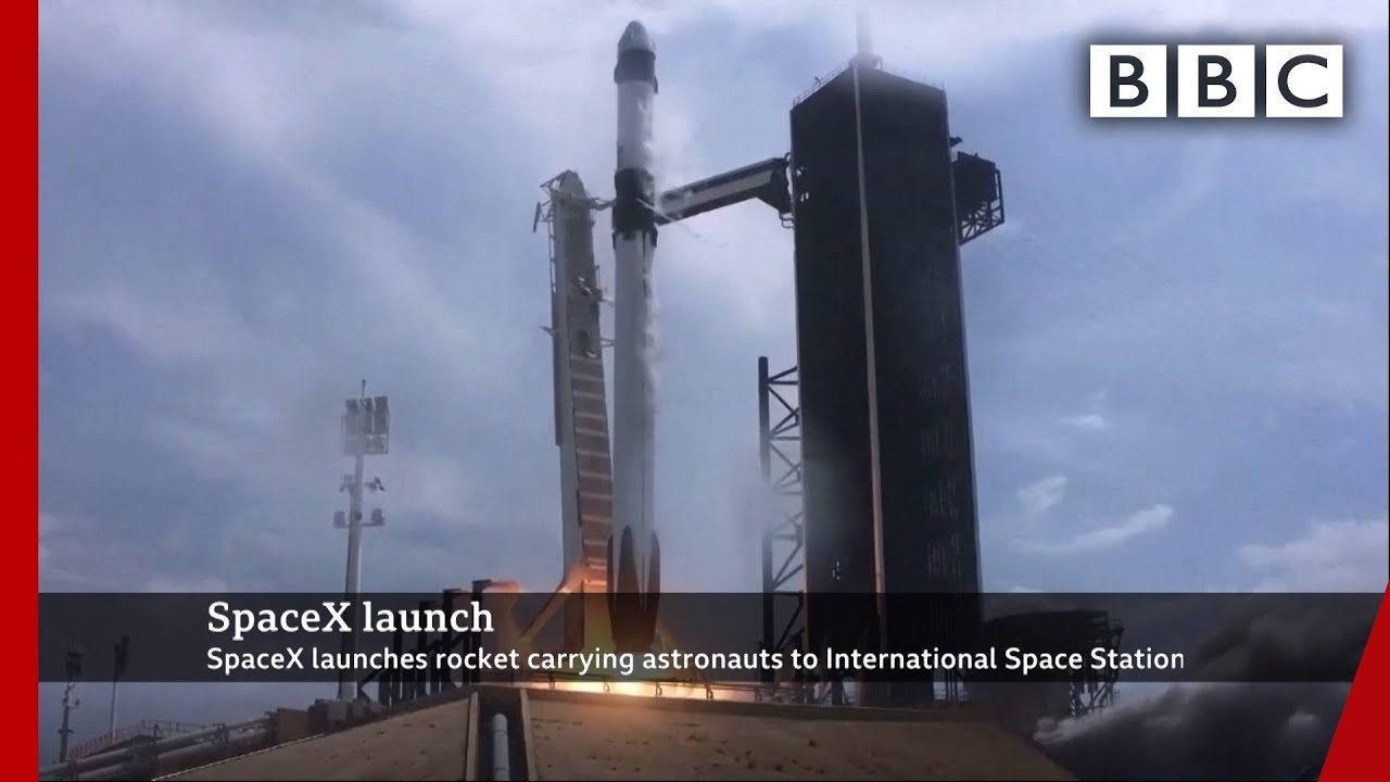 SpaceX launch ? @BBC News @NASA - BBC