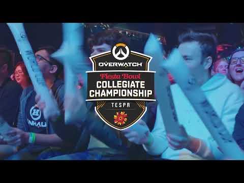 Fiesta Bowl Overwatch Collegiate National Championship Announcement