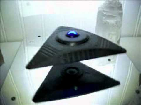 Floating Triangle UFO