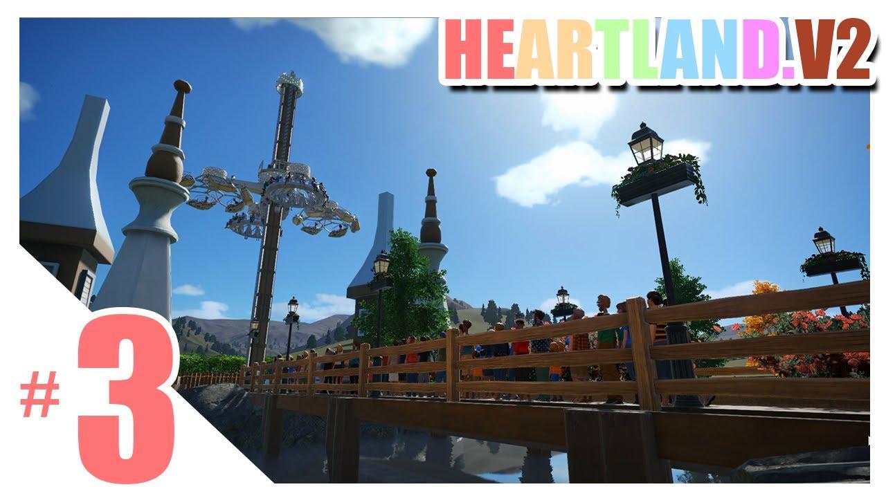 หมุนสบาย สายสะพานกับหอคอยเวทมนตร์ - Planet Coaster #3(เขากลับมาต่อเติม)