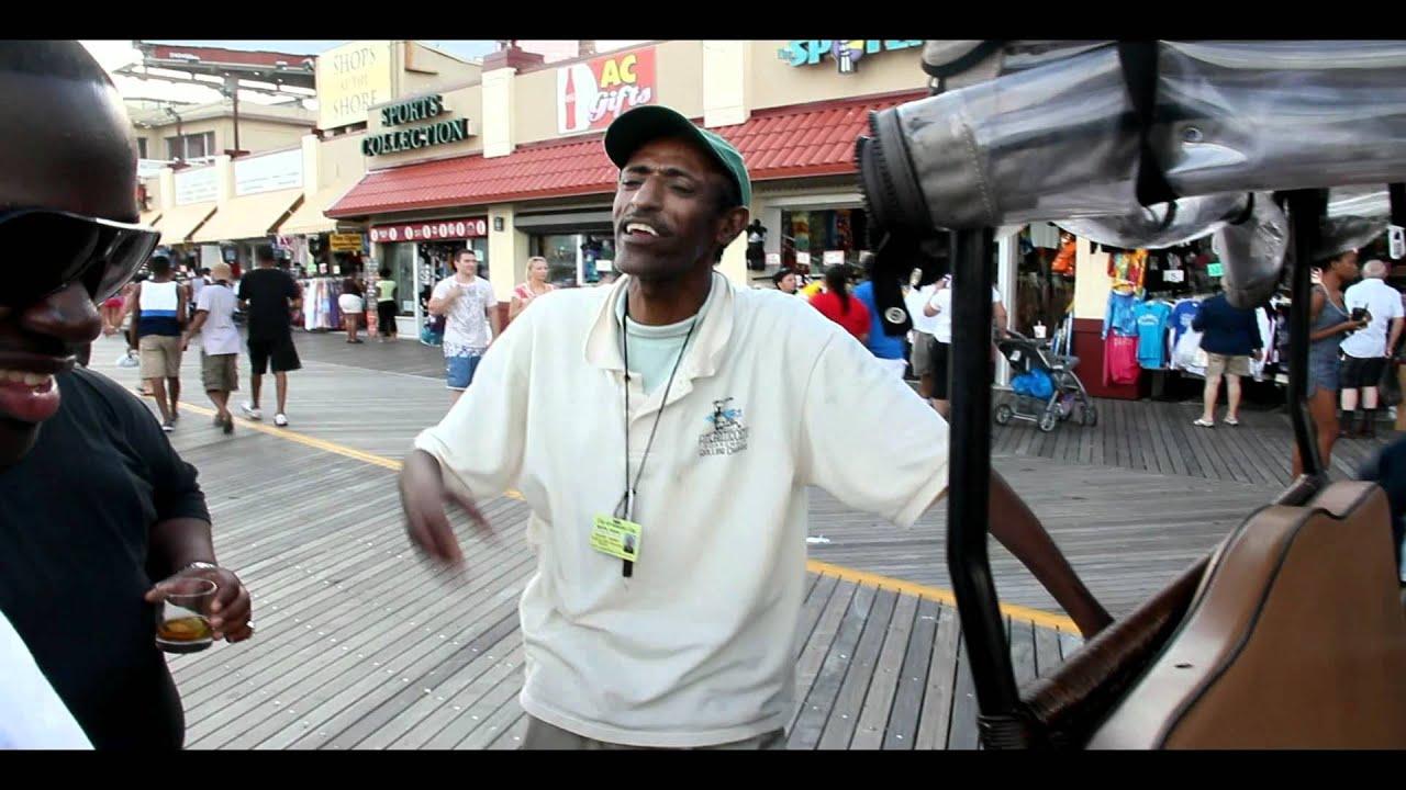 rolling chair dare on the boardwalk in a c matt canon films