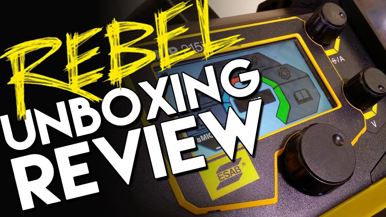 Esab Rebel Emp 215ic Review Part 1 Of 3 Mig Welding And Welder Extension Cord Wire Schematic