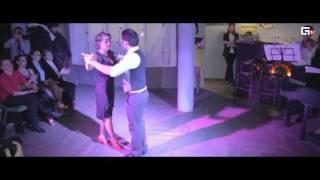 """Пара №7 Стас и Любовь. Аргентинское танго/ Проект """"стань танцором""""/ La Rosa Negra/ Танцы в Курске"""