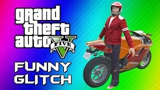 Repeat youtube video GTA 5 Mannequin Glitch - Funny Character Animation, Motorcycles & Jets (GTA 5 Online Funny Moments)