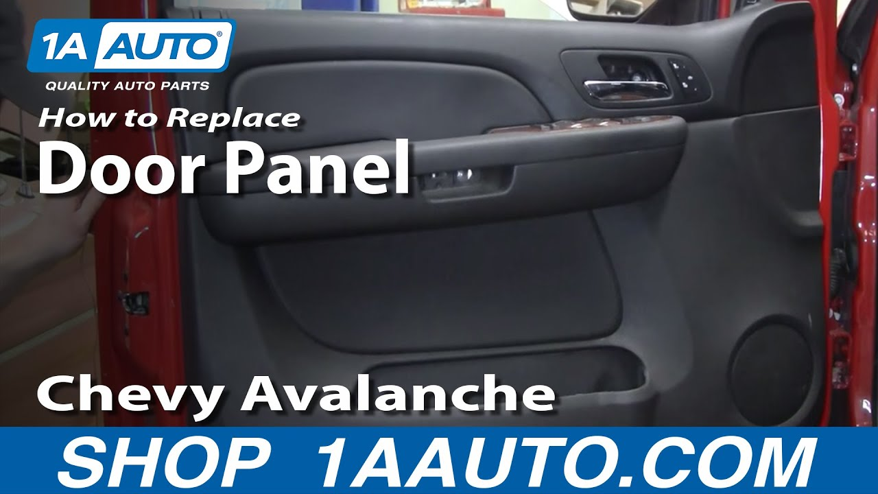 How To Remove The Door Panel From An 07 Or Later Chevy Avalanche Auto Maintenance Repairs Wonderhowto