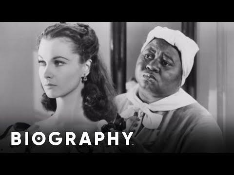 Hattie McDaniel - The First African-American To Win An Oscar | Mini Bio | BIO
