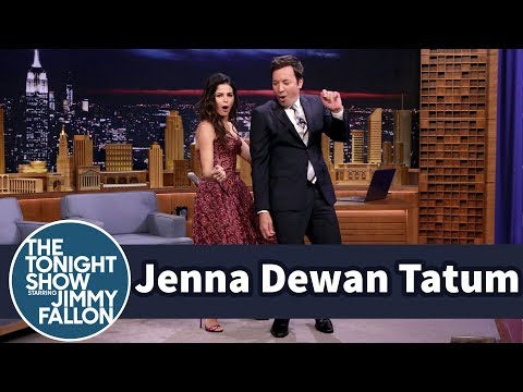Jenna Dewan Tatum Teaches Jimmy the Tatum Body Roll