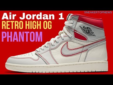 "new arrival ea952 399a8 The Air Jordan 1 Retro High OG ""Phantom"" Release Date March 16th, 2019   jordan  1 couture"