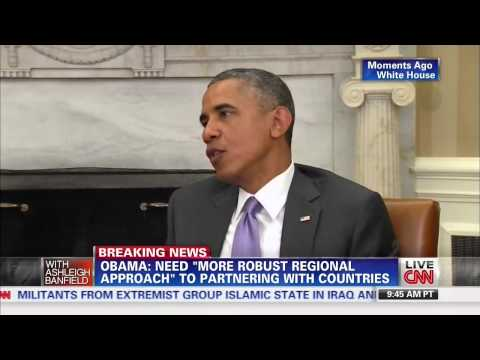 Obama confirms 'emergency situation' in Iraq may require military force