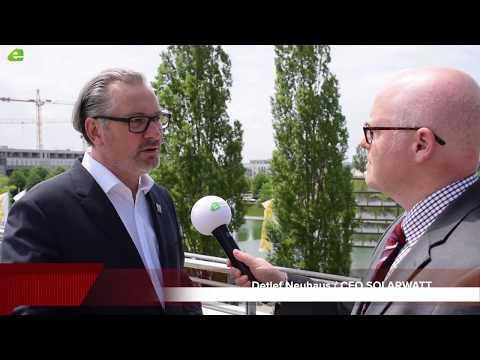 SOLARWATT auf Erfolgskurs - CEO Detlef Neuhaus im Gespräch mit Energie & Management