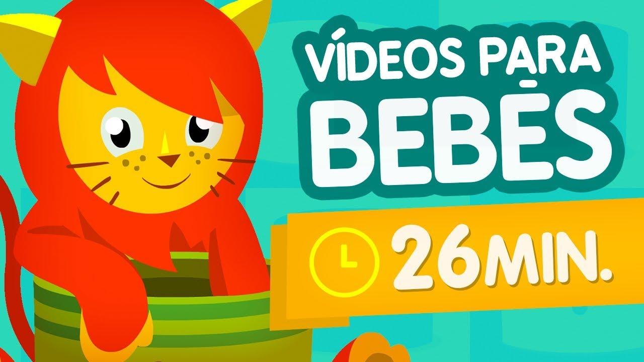 Vídeos Del Cubo Sorpresa 06 Dibujos Para Bebés De 3 Meses Hasta Niños De 6 Años En Español Youtube