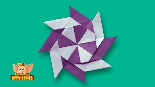 Arts and Crafts - Origami - Origami - Make an 8 Point Star