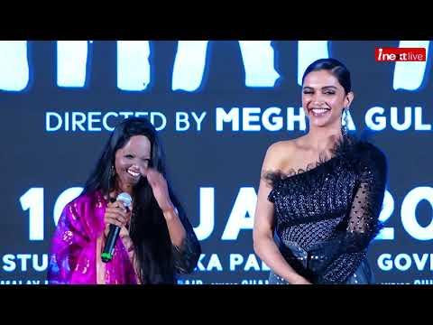 Deepika Padukone, Laxmi Agarwal Emotional Speech At Chhapaak Title Track Launch