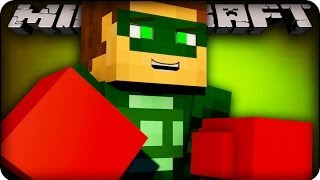 Superheros in Minecraft