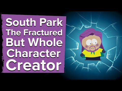 Let's Play South Park The Fractured But Whole Part 1: CHARACTER CREATION AND DIFFICULTY SLIDER
