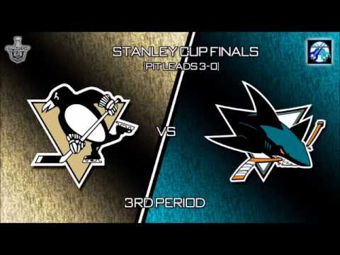 NHL 16 - Stanley Cup Final SJ@PIT Game 4 Simulation (3rd)