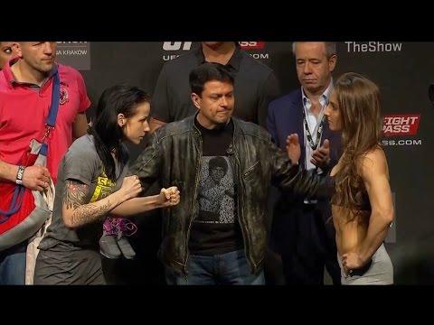UFC Fight Night 64 Weigh-Ins: Izabela Badurek vs. Aleksandra