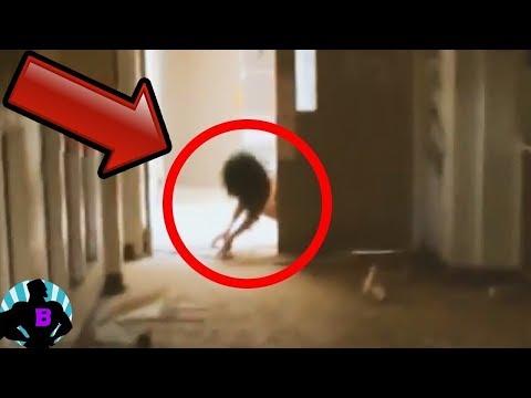 5 видео, в которых случайно засняли что-то паранормальное Часть 6