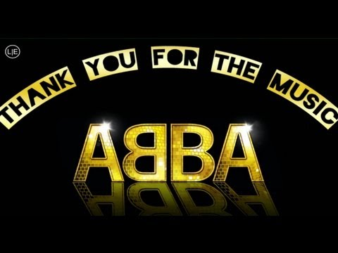 THANK YOU FOR THE MUSIC Karaoke (PIANO backing IN THE STYLE OF 'ABBA') Lyrics Video mama mia