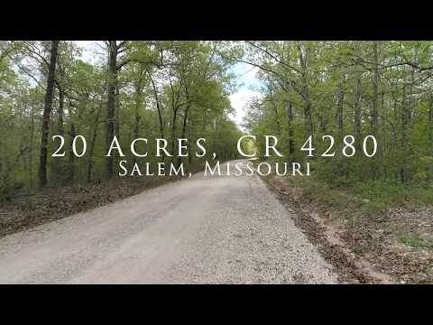 20 Acre Hunting Oasis In Dent County MO - CR4280 Salem, MO