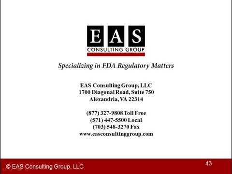 EAS Webinar - 21 CFR 111 GMP Laboratory Overview, The Dietary Supplement Laboratory 1 of 5