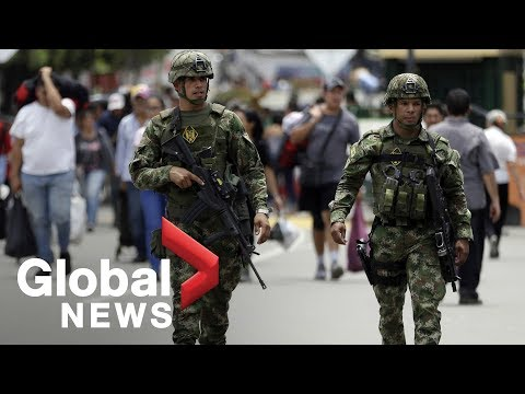 Juan Guaido launches uprising to oust Maduro amid political unrest