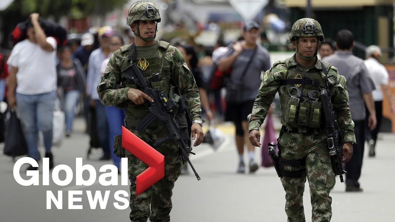 Juan Guaido launches military uprising to oust Maduro | LIVE