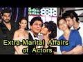 10 Shocking Extra-Marital Affairs Of Bollywood Celebrities | 2018
