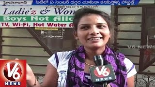 Private Hostels Attract Students By Providing Free Wi-Fi | Hyderabad | V6 News