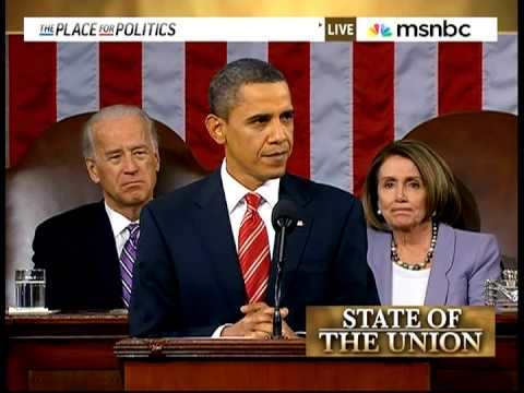 President Obama - 2010-01-27 First State Of The Union, With Commentary