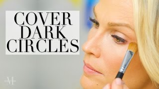 How to Cover Dark Circles with Makeup