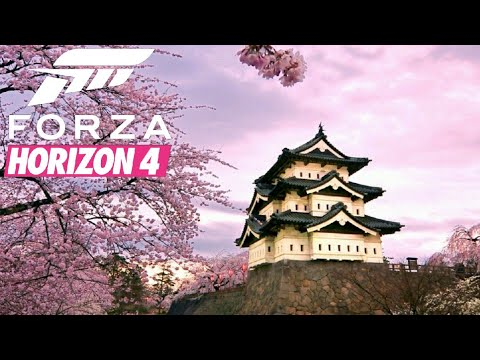 Forza Horizon 4   Welcome To Japan! (Fan-Made Trailer/4K60FPS)