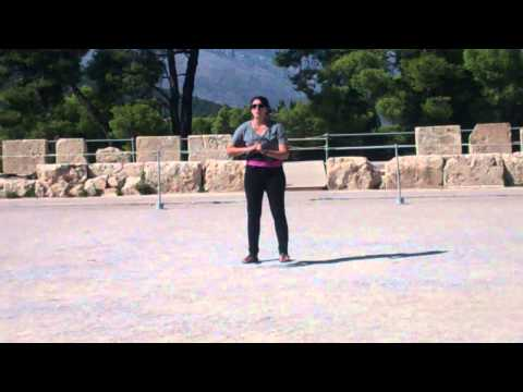 Performing at Theater of Dionysus