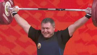 Андрей Арямнов (BLR) - Men 109kg, IWF World Championships, Ashgabat 2018