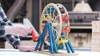 Building A Toy Ferris Wheel