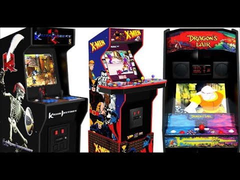 new cabinets coming to Arcade1Up 2021 from Awesome 4K