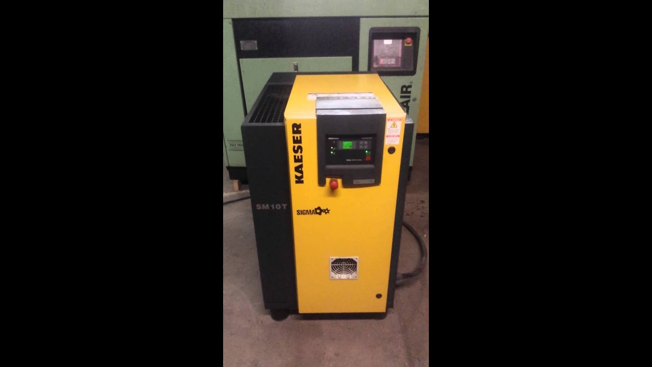 kaeser sm 10 t 10hp rotary screw air compressor with built in rh youtube com kaeser sm12 manual kaeser aircenter sm12 manual