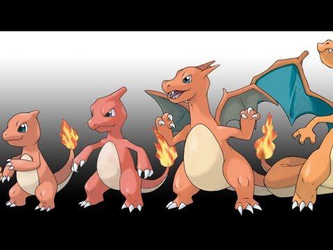 Pokemon Characters Evolution - Evolutions Of The Pokemon Characters