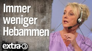 Immer weniger Hebammen in Deutschland