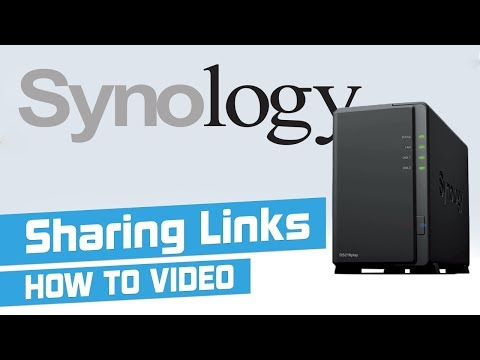Sharing & receiving files over the internet from Synology