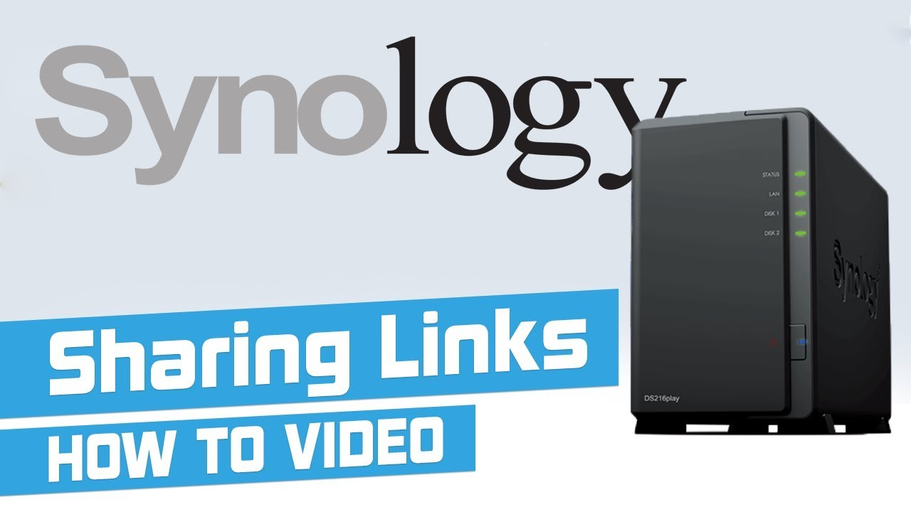 Sharing & receiving files over the internet from Synology NAS