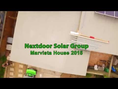 NSG Marvista House Solar Installation