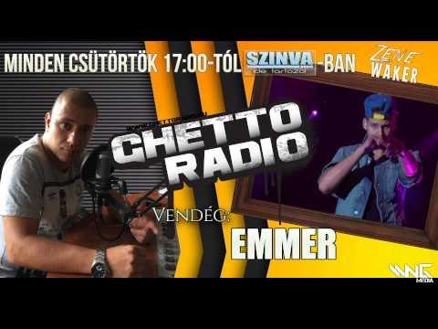 Ghetto Radio 2015 - Emmer Interjú (07.09.) @ Szinva Rádió Miskolc