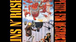 Guns N' Roses - Welcome to the jungle in E
