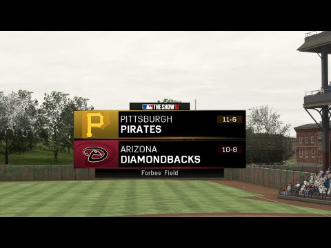 LOW SCORING GAME! AT FORBES FIELD! | MLB The Show 16 Diamondbacks Fantasy Draft Franchise Gamplay