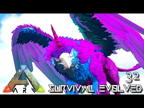 ARK: SURVIVAL EVOLVED - FABLED GRIFFICORN DARK GRIFFIN & HYDRA E32 !!! ( PRIMAL FEAR PYRIA )