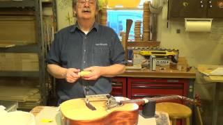 Blues Creek Guitars - How to Repair a Lifting Bridge